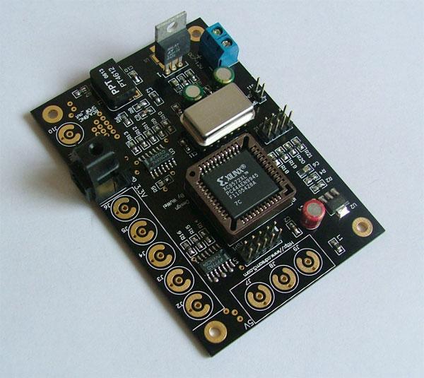 采用dsix电路原理处理spdif信号