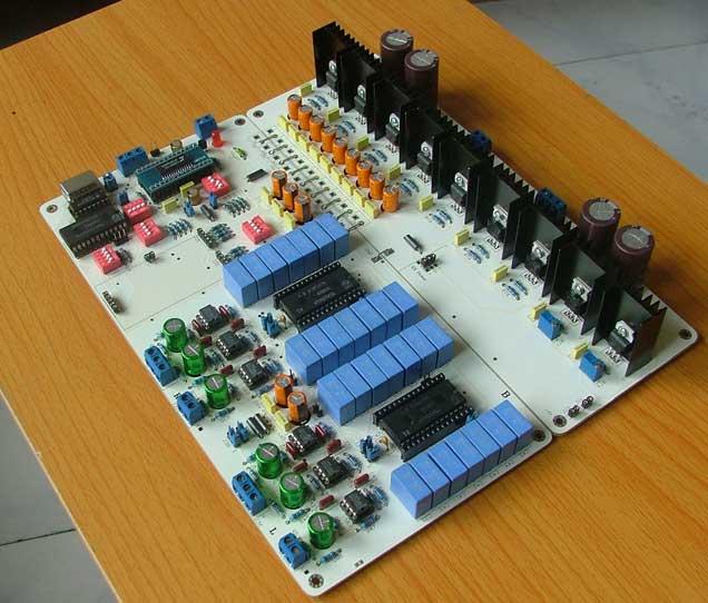 基于tda1541a的平衡模式da解码板
